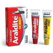 Cola Epóxi Araldite Hoby (Resina + Endurecedor) 16g - Tekbond