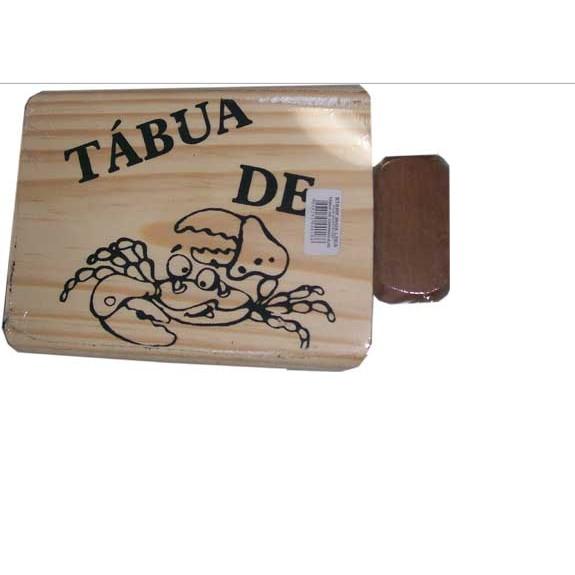 Tabua de Caranguejo com Martelo - Stamp Inox