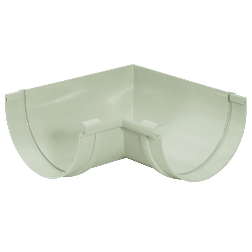 Esquadro de PVC Interno 170 mm Branco - Pluvial Amanco