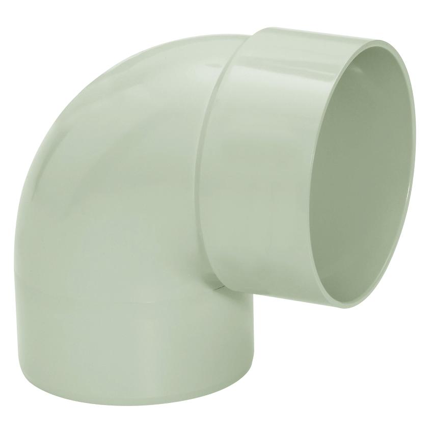 Joelho de PVC 100 mm 90 Cinza Claro - Pluvial Amanco