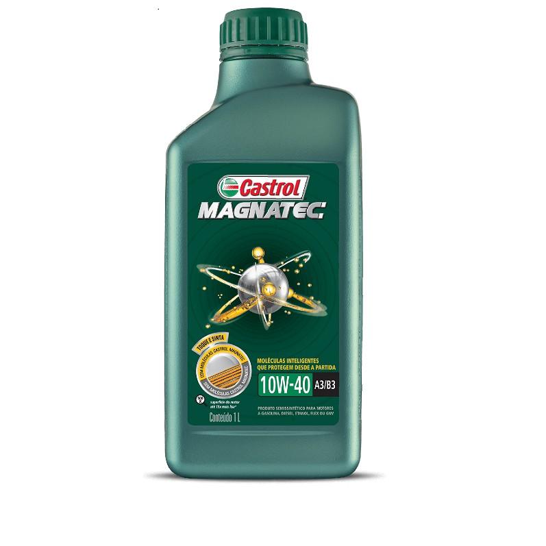 Oleo Lubrificante Magnatec Semissintetico 10W40 1L - Castrol