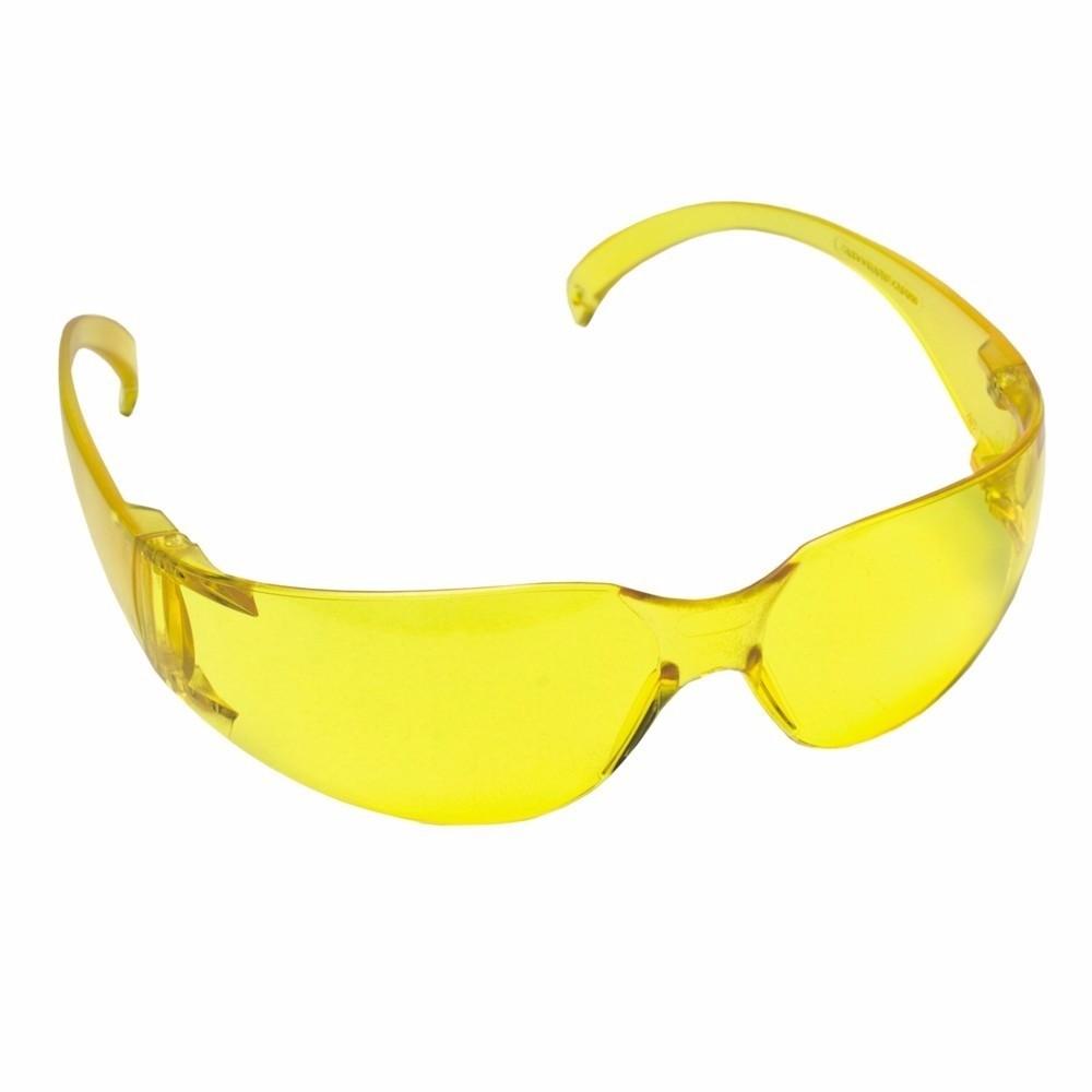 Oculos de Protecao Polipropileno Leopardo Amarelo 106 - Kalipso