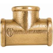 """Tê Bronze Roscável 1.1/2"""" - Eluma"""