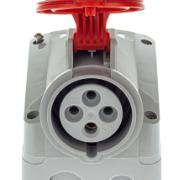 Tomada Industrial de Sobrepor P17 3P+T 16A Tempra IP44 Trifásica 380/415V - Cemar