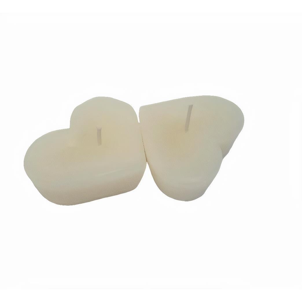 Conjunto de Velas Flutuantes 2 Pecas Branco