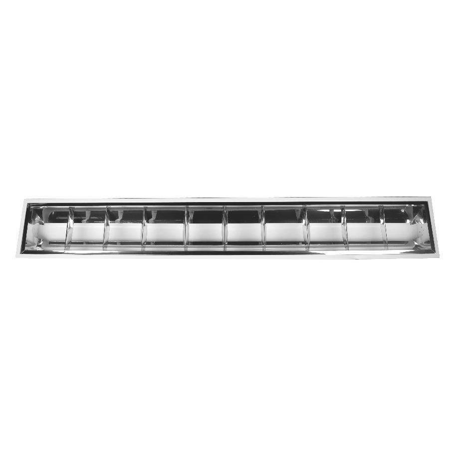 Luminaria Fluorescente de Embutir 36W 220V 60HZ