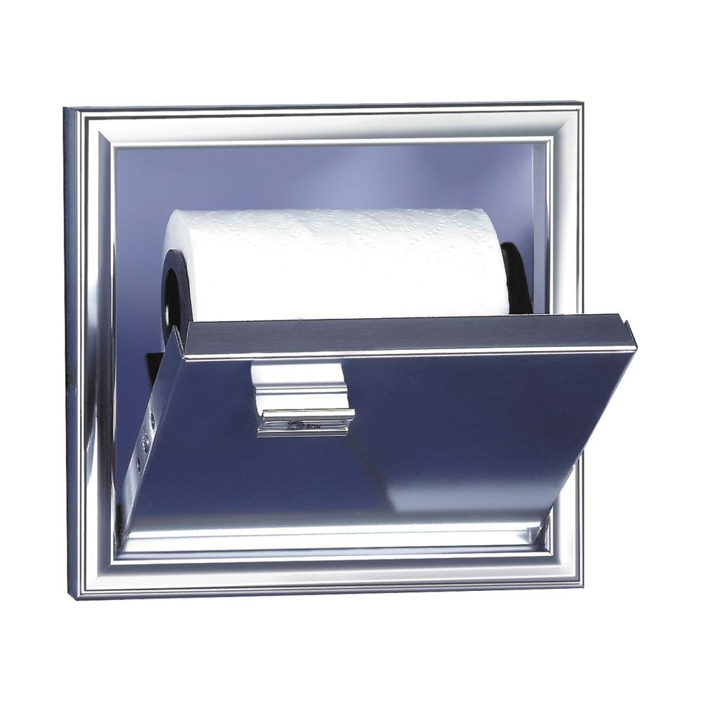 Porta Papel Higienico Embutir 1 Rolo 15x15cm - Cris Metal