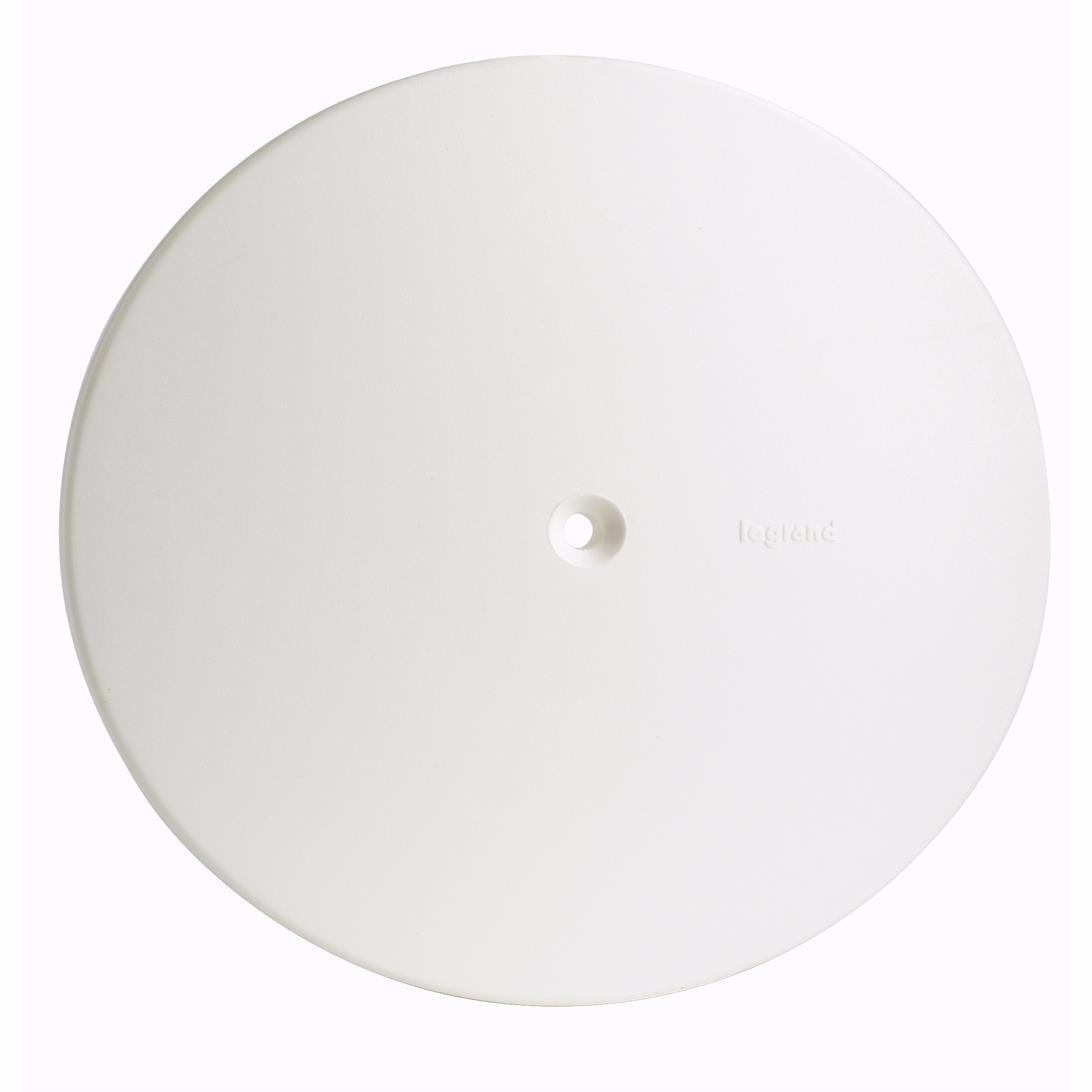 Placa Redondo Cega 4 Branco 618540 Plus - Legrand