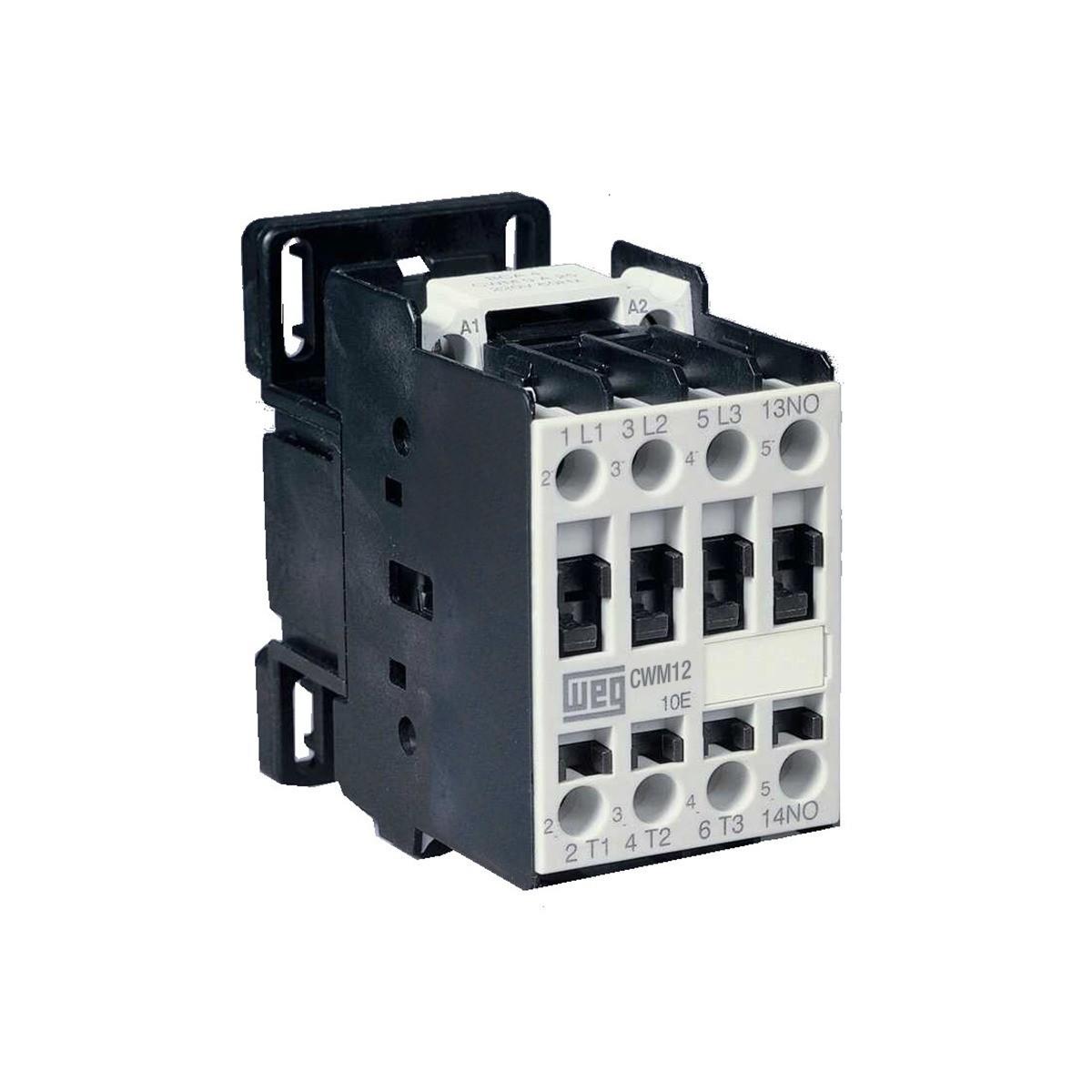 Contator de Potencia Trifasico 120A 190V 50 Hz e 220V 60 Hz - WEG