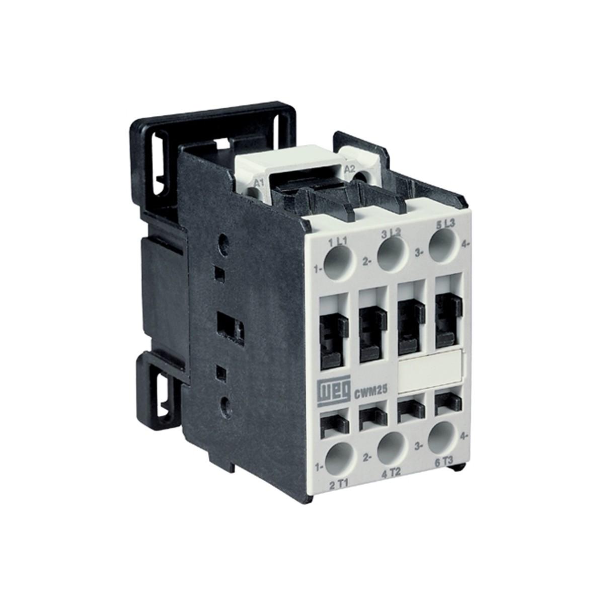 Contator de Potencia Trifasico 250A 190V 50 Hz e 220V 60 Hz - WEG
