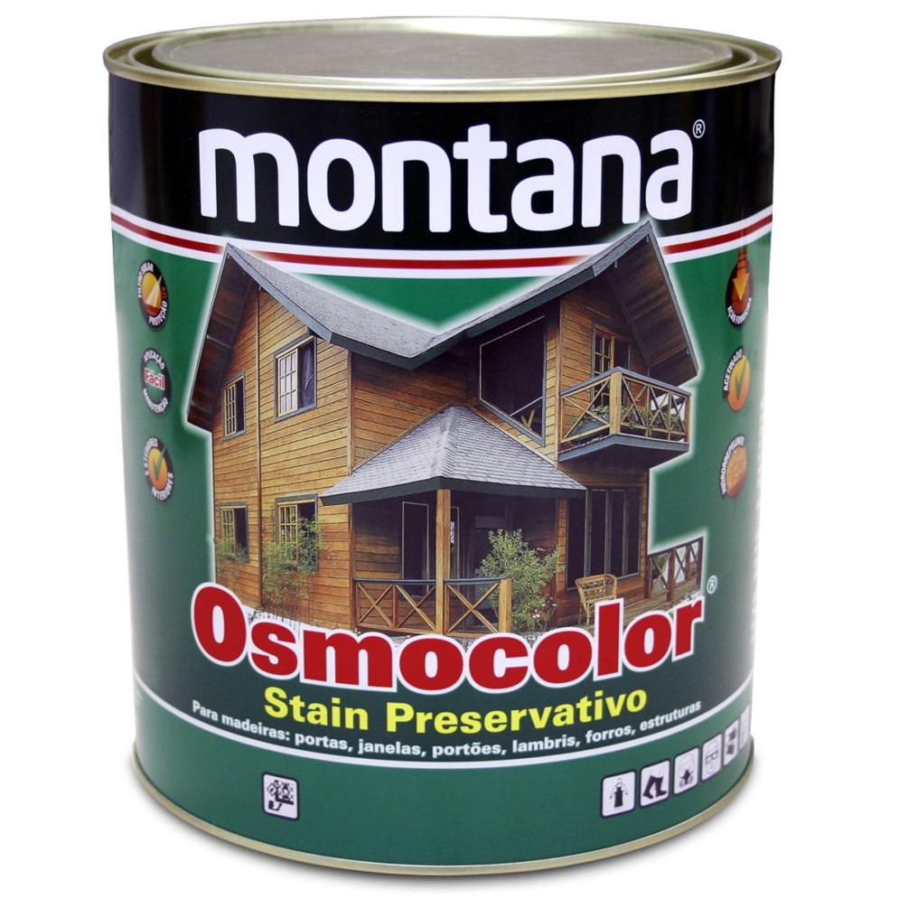 Stain Osmocolor Cores Semitransparentes Acetinado - Imbuia - 0900L - Montana