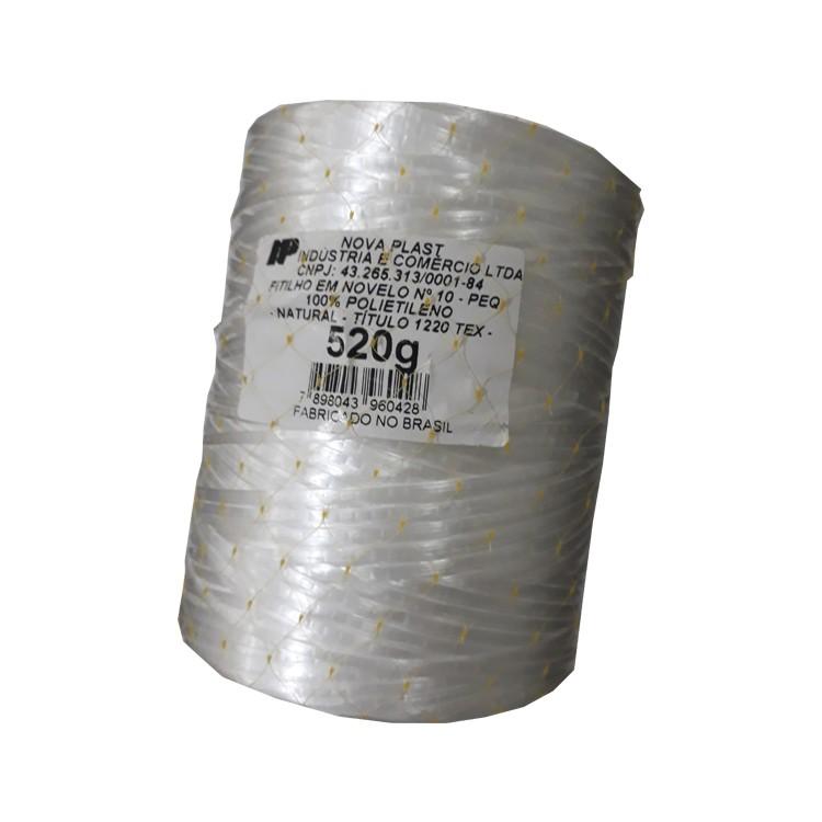 Fitilho Multiuso de Polietileno 30mm x 4100m Branco - Nova Plast