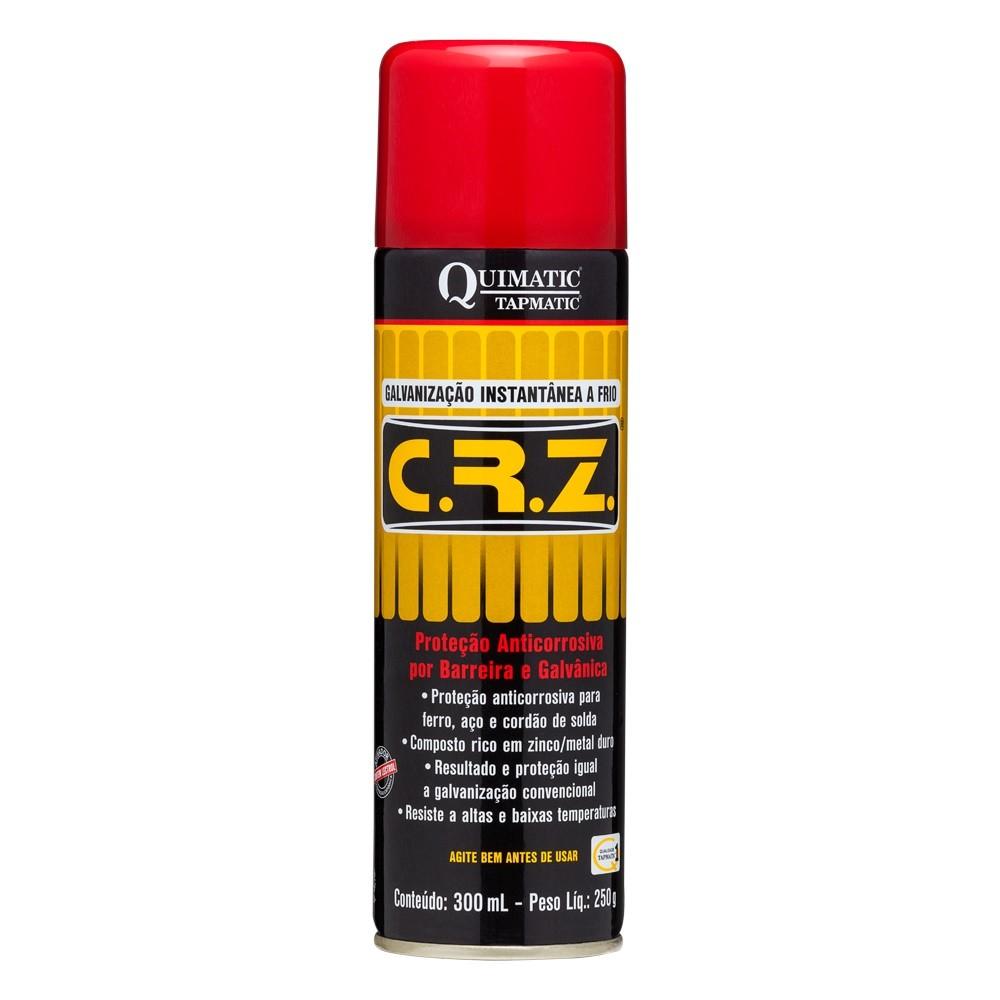 Galvanizador a Frio CRZ DM1 Spray 300 ml - Quimatic