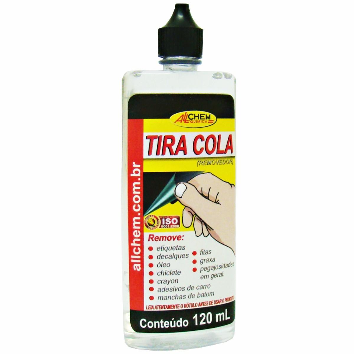 Tira Cola Removedor de Sujeiras em Geral 120ml - Allchem