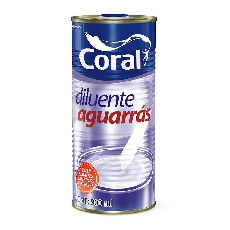 Diluente Aguarras 900 ml - Coral