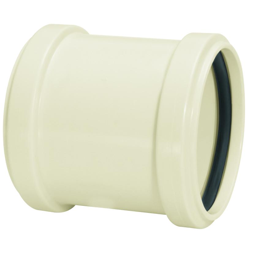 Luva de Correr para Esgoto PVC Branco 40 mm - Amanco