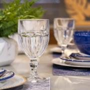 Taça de Vidro para Água 340ml Transparente - Nadir