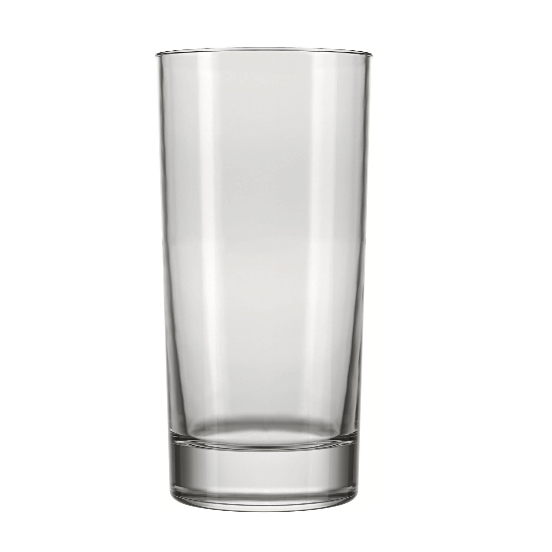 Copo Long Drink de Vidro 320ml Transparente - Atol Nadir