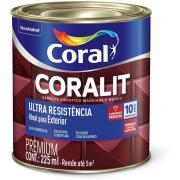 Tinta Esmalte Sintético Alto brilho Premium 0,2L - Branco Neve - Coralit Coral