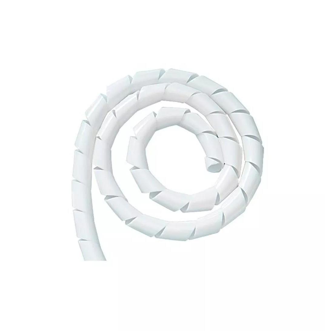 Organizador de Fios Espiral 14 x 5 m Branco - Dutoplast