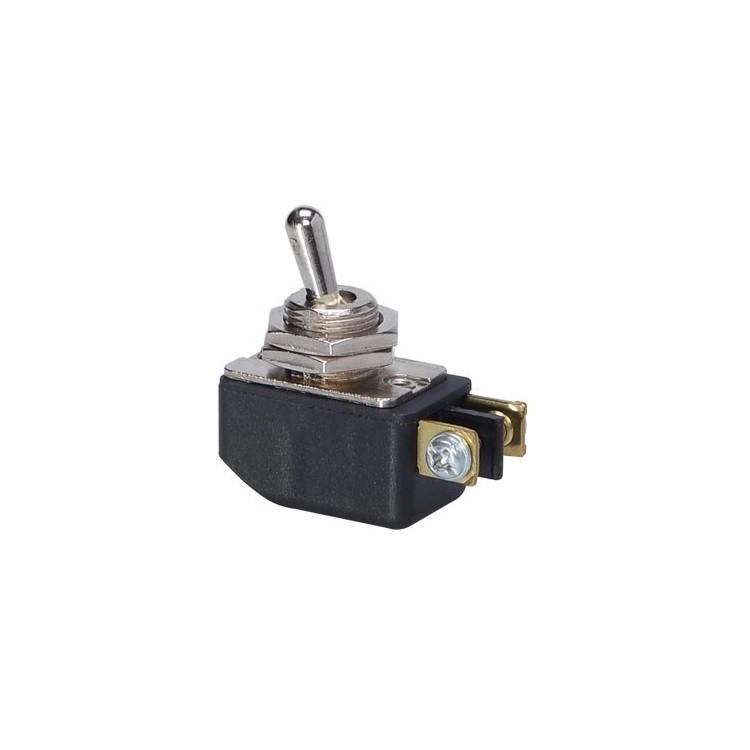 Modulo Interruptor Simples Alavanca 1 Modulo 6A - Preto - CS-301D - MarGirius