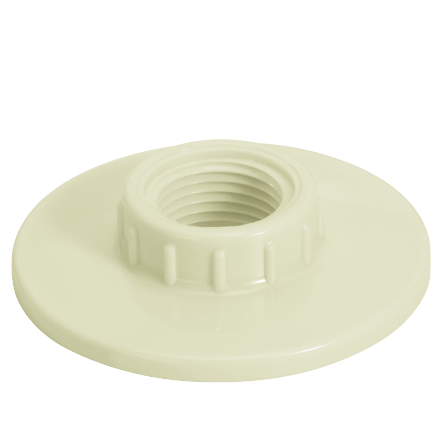 Flange Roscavel PVC Branco 1 - Amanco