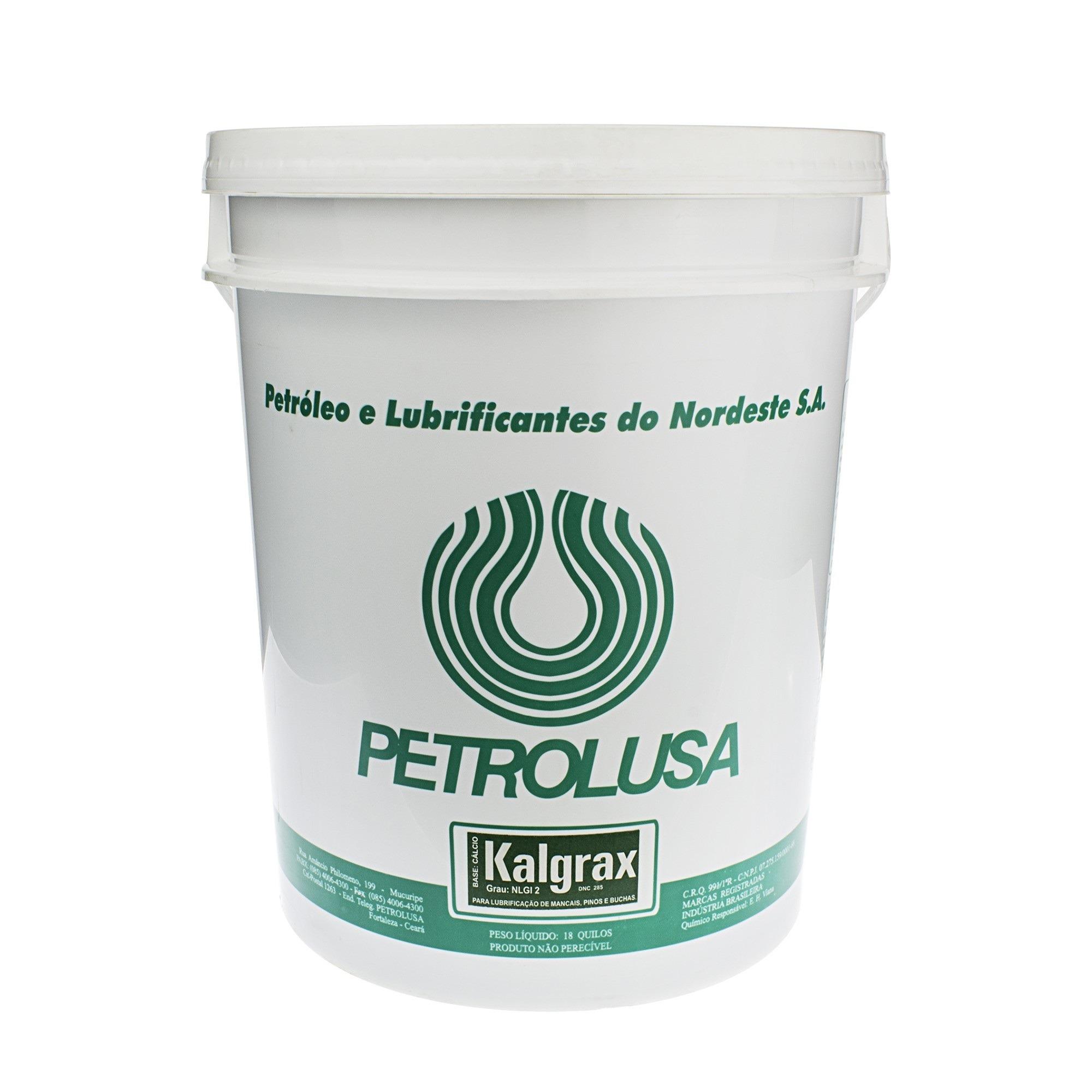 Graxa de Calcio Kalgrax 18 kg - Petrolusa