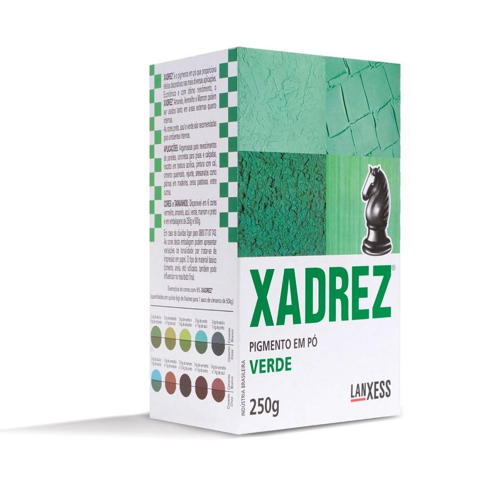 Pigmento Em Po Verde 250g - Xadrez