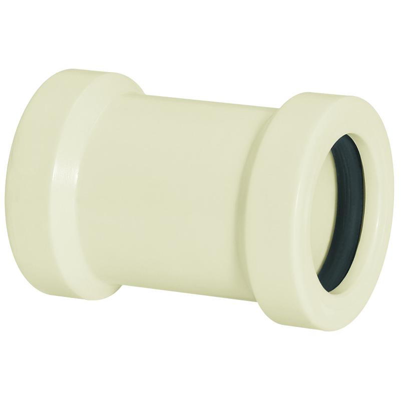 Luva de Correr Roscavel PVC Branco 112 - Amanco