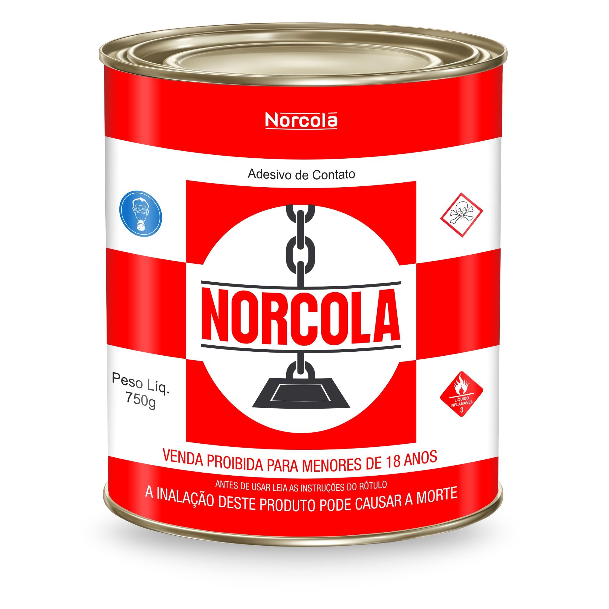 Cola Contato Formica 750g - Norcola