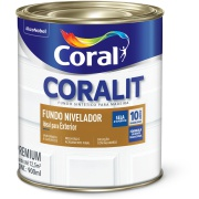 Fundo Nivelador Sintético 0,9L Branco 3063 - Coral
