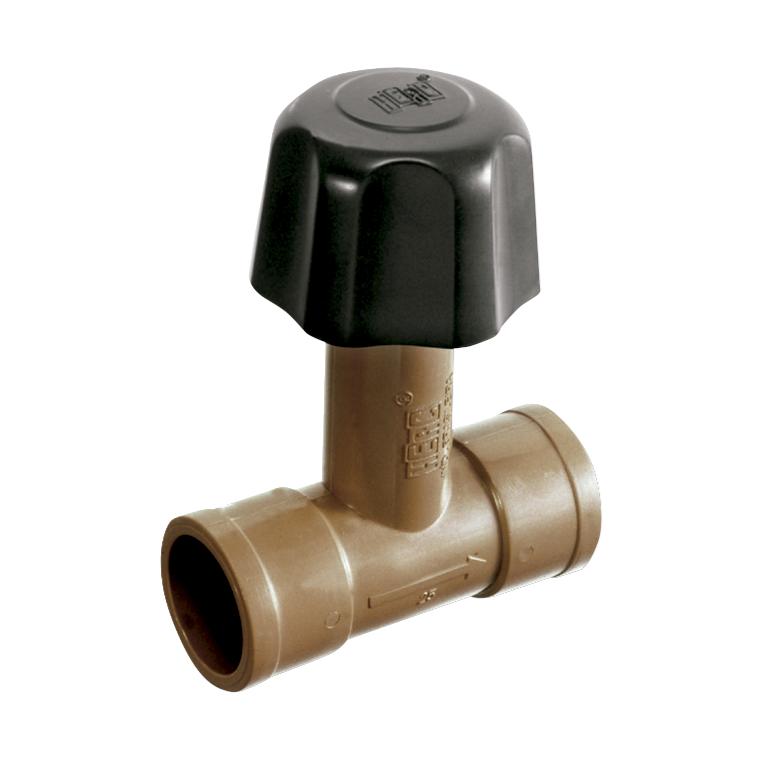 Registro de Pressao Soldavel PVC 20mm - 1987 - Herc