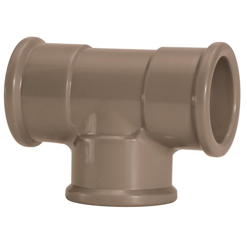 Te 90 Soldavel PVC Marrom 75 mm - Amanco