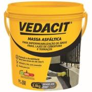 Massa Betuminosa para Impermeabilização Frioasfalto 3,9kg - Vedacit