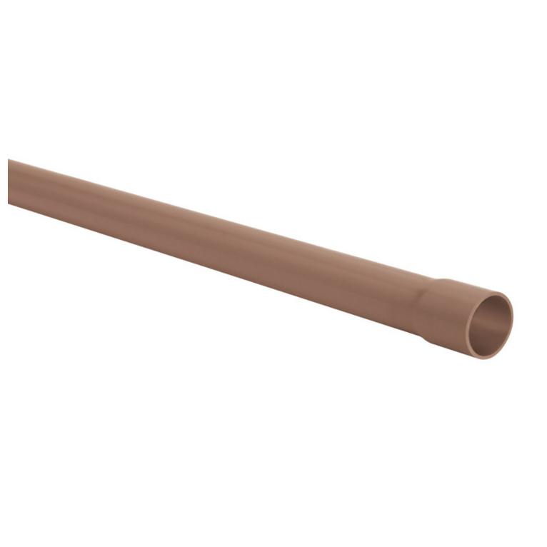 Tubo PVC Marrom Soldavel 20 mm x 6 m - Amanco