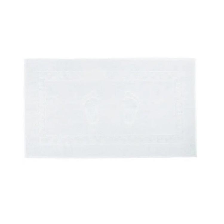 Toalha Felpuda para Piso 45x70cm Branco - Buettner