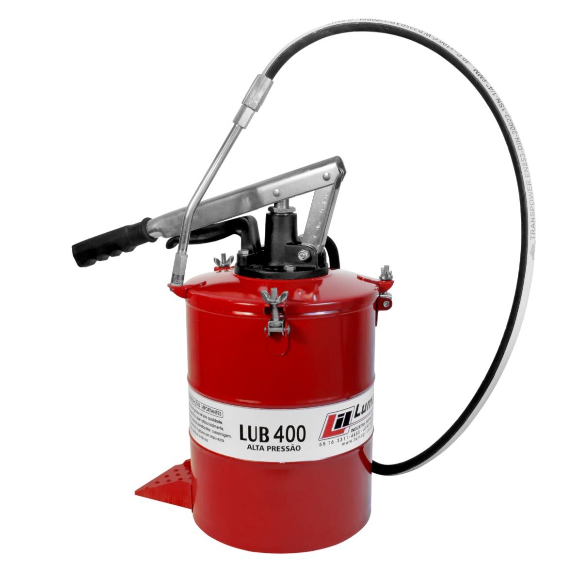 Bomba de Engraxar Manual Alavanca 8kg - Lumagi