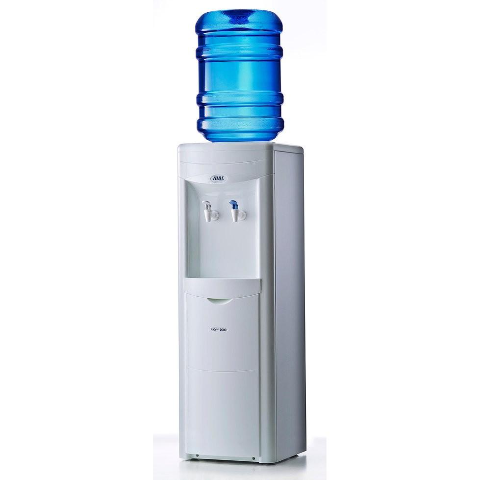 Bebedouro de Coluna IBBL para Garrafao Refrigerado por Compressor Branco 220V