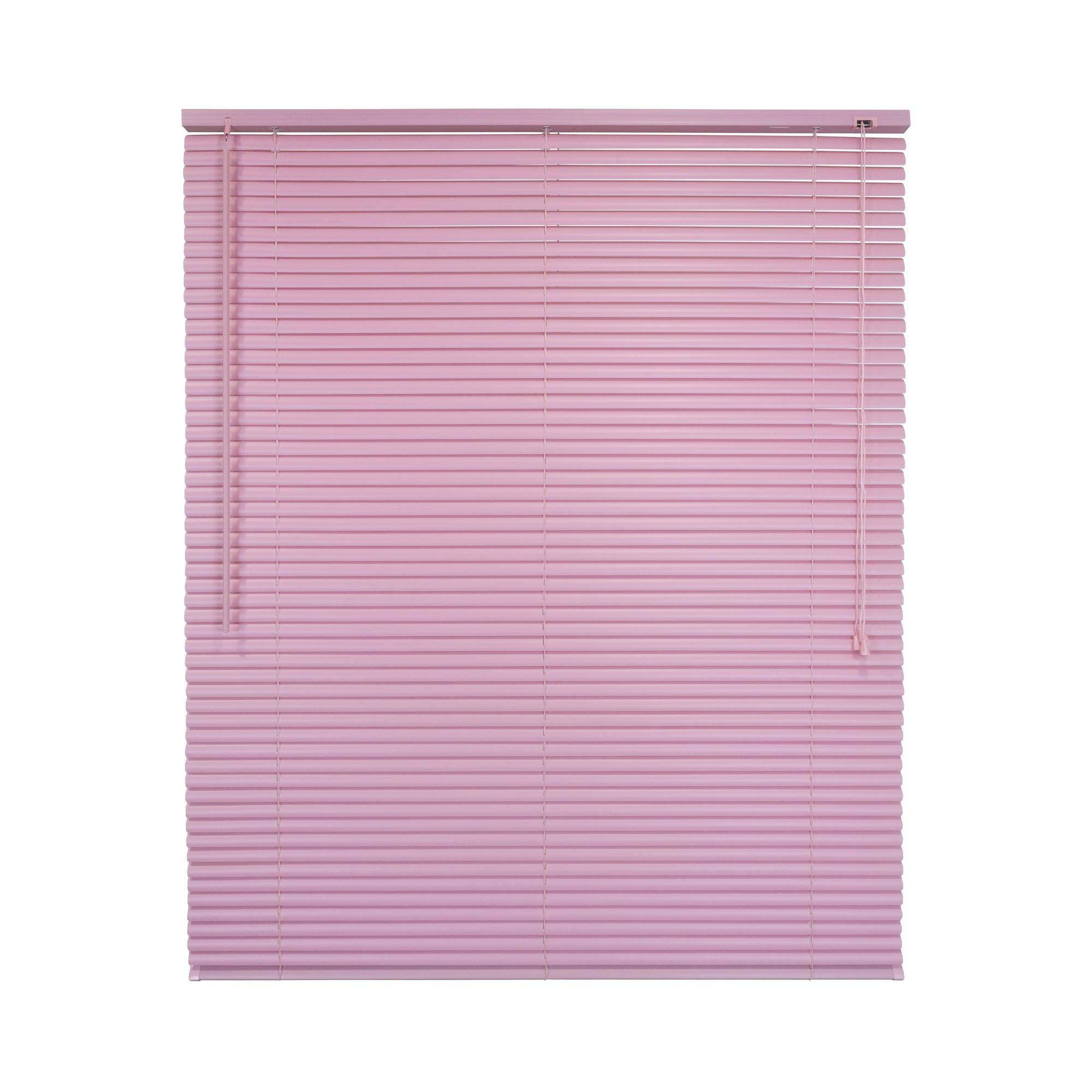 Persiana Horizontal PVC 100x125 cm Rosa - Liyang