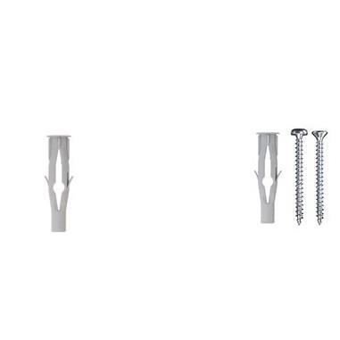 Bucha de Nylon para Universal 6mm 100 pecas - Fischer