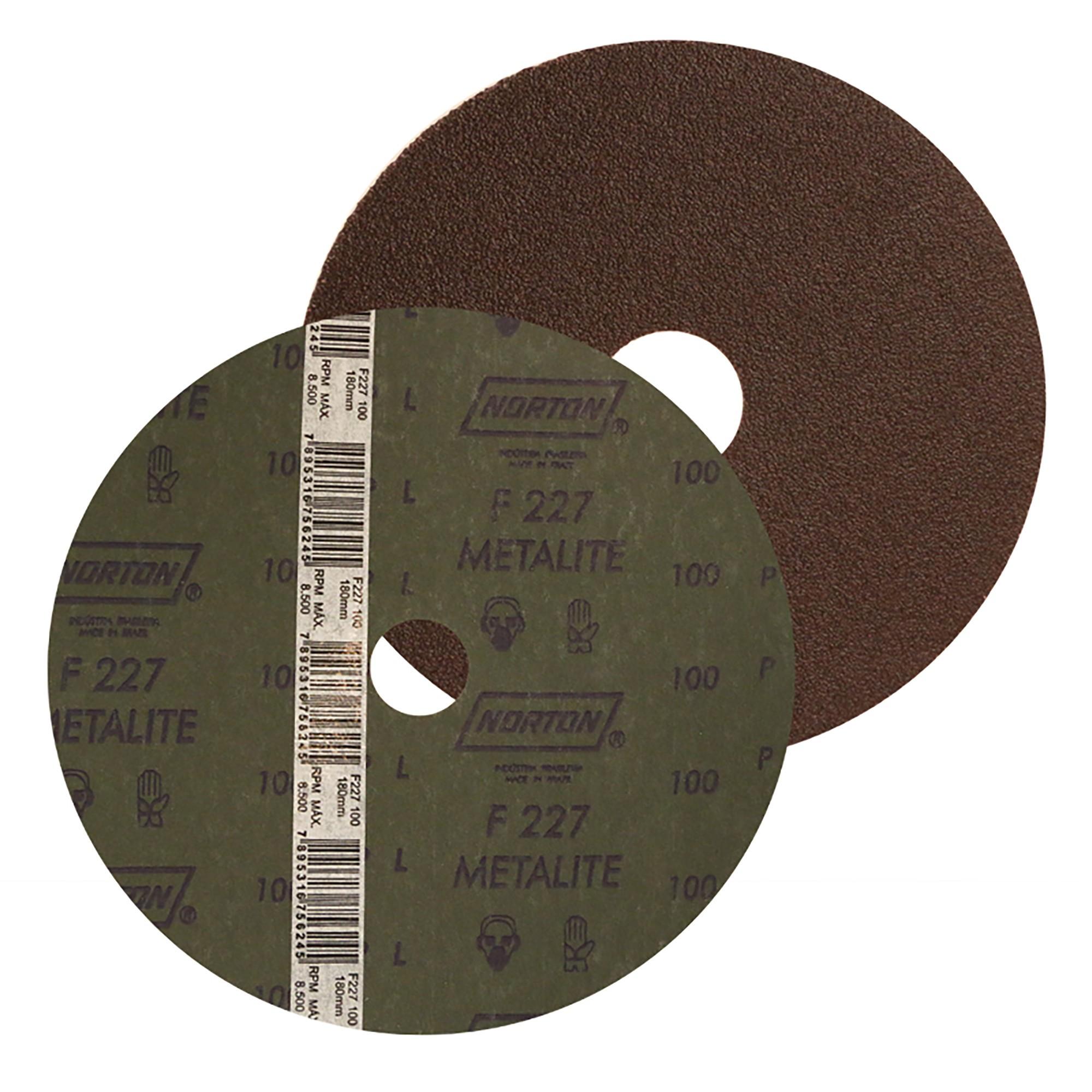 Disco de Desbaste Oxido de Aluminio 115x2200mm N80 - Norton