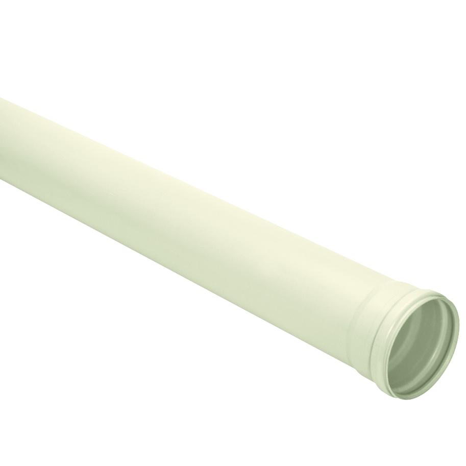 Tubo Para Esgoto PVC Branco 100 mm x 6 m - Reforcado - Amanco