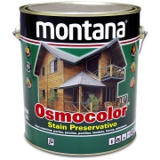 Stain Osmocolor Cores Semitransparentes Acetinado - Cedro - 3,600L - Montana