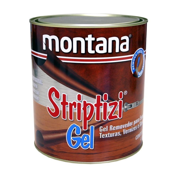 Removedor em Gel de Esmalte e Verniz Striptizi 1 kg - Montana
