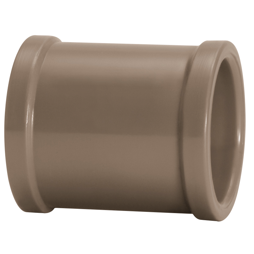 Luva Soldavel PVC Marrom 85 mm - Amanco