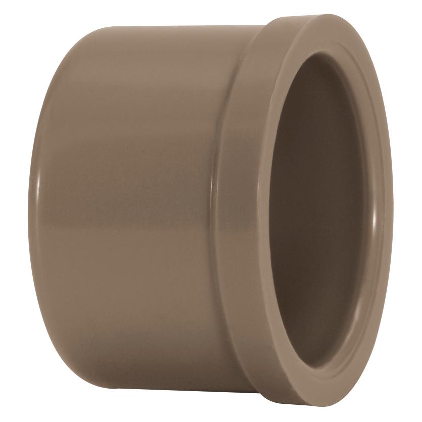Cap Soldavel PVC Marrom 85 mm - Amanco