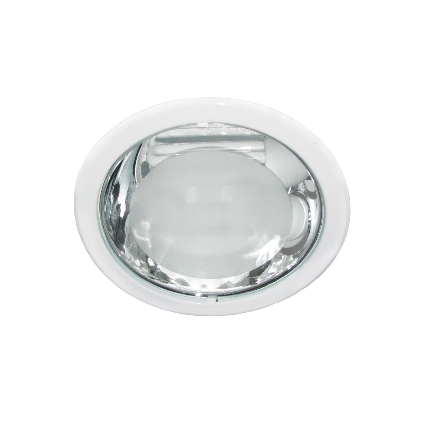 Spot Embutir Aluminio E27 com Vidro 2 Lampadas 1140 - Goli