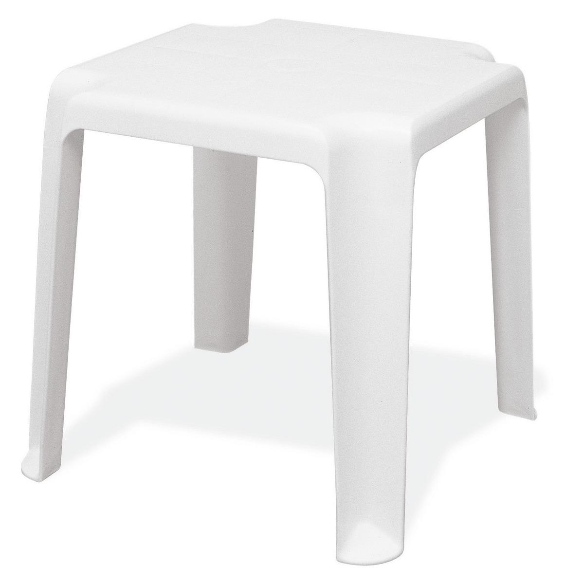 Mesa de Plastico Apoio Pituba Branca - Tramontina