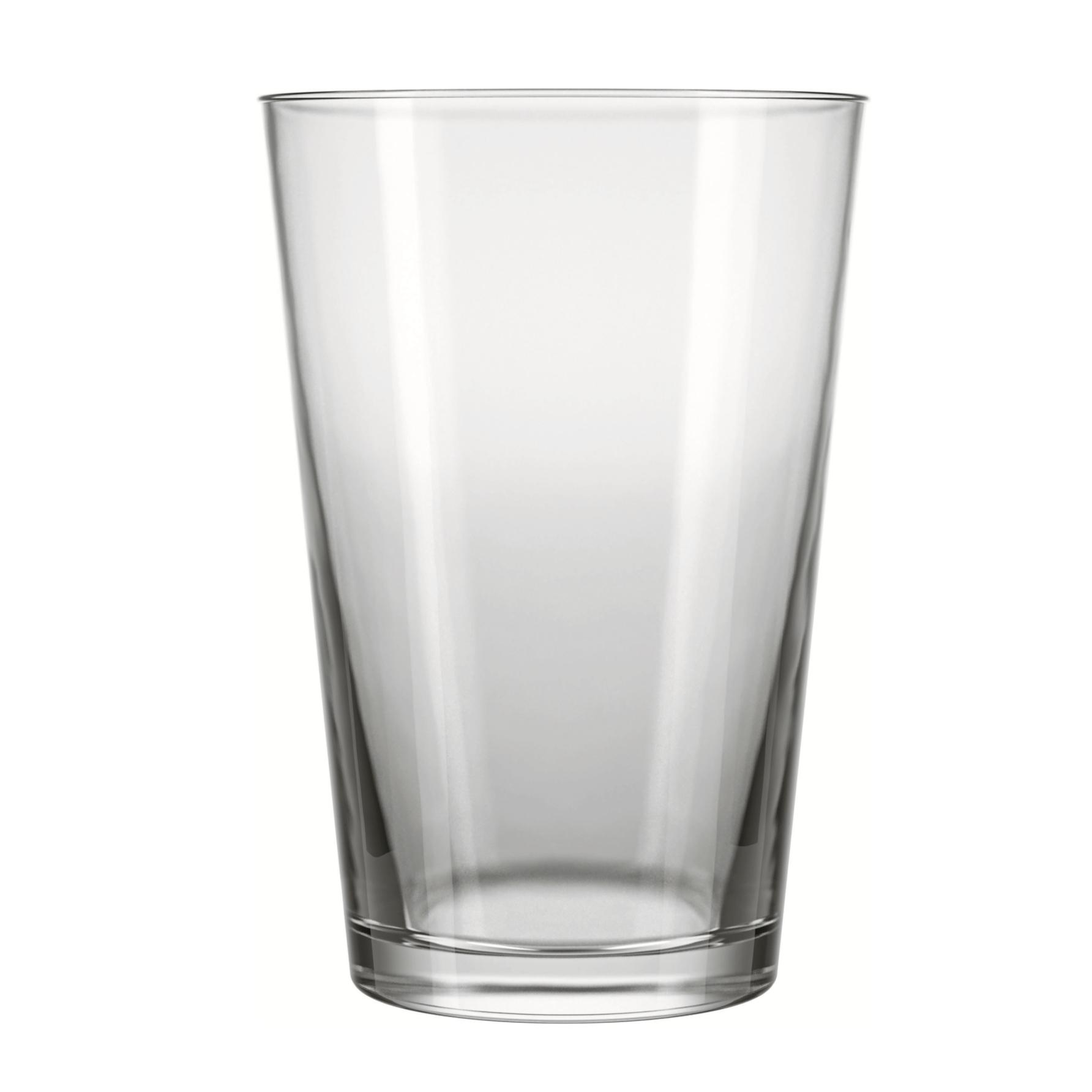 Copo Long Drink de Vidro 350ml Transparente - Caldereta Nadir
