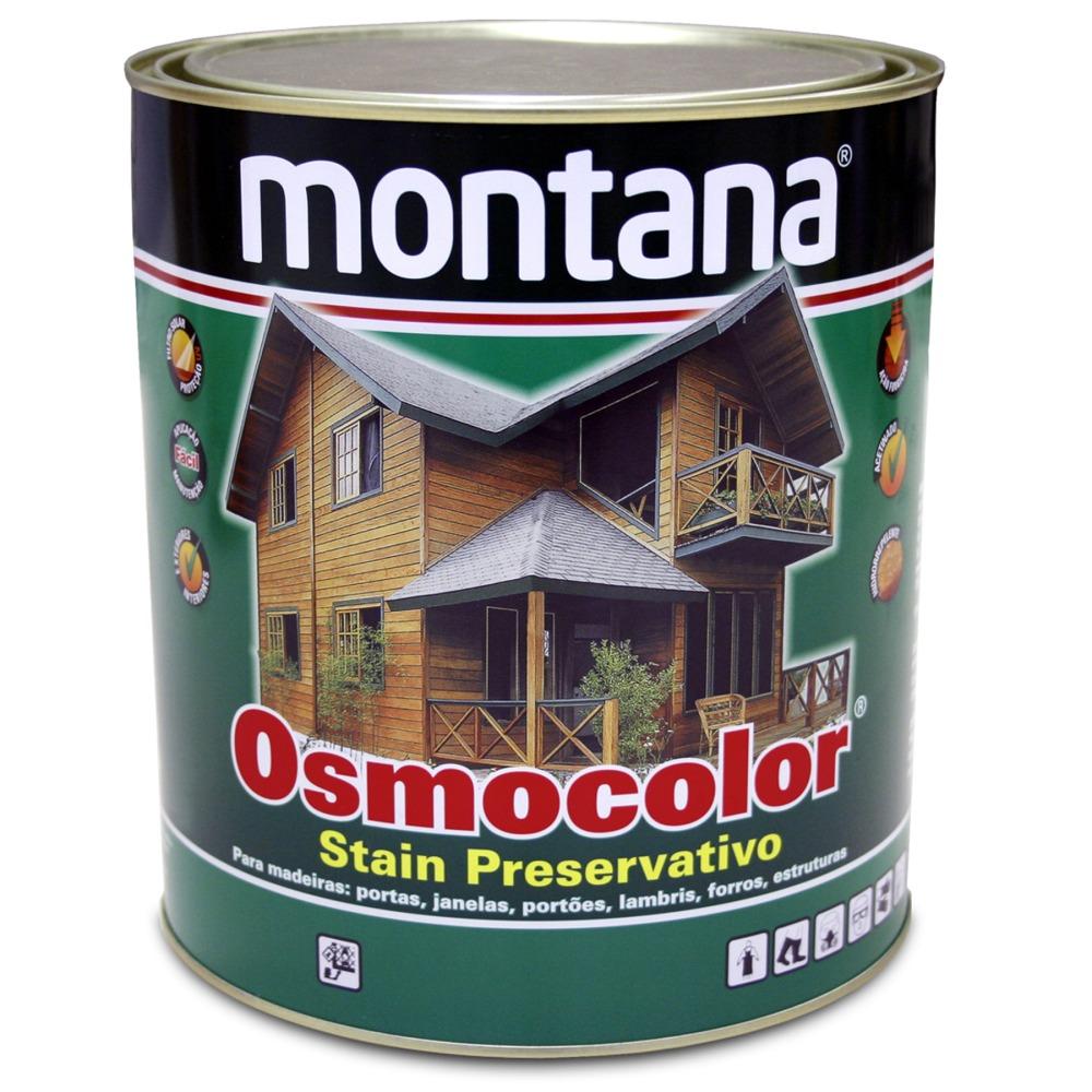 Stain Osmocolor Cores Solidas Acetinado - Branco Neve - 0900L - Montana